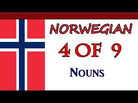 Basic Norwegian - Nouns - Lecture 04 of 09