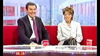 Natasha Kaplinsky in Leather trousers