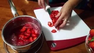 Strawberry Pretzel Desert