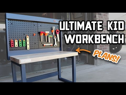 How to Build an Awesome Kid Workbench