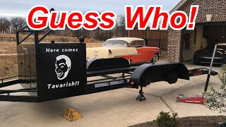 We salvaged an old race trailer for Tavarish's cross country trip!