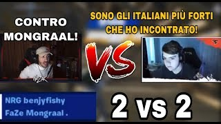 Mongraal STUPITO dopo esser stato SFIDATO da Nezak in 2 VS 2 a *soldi*! Box FIGHT!