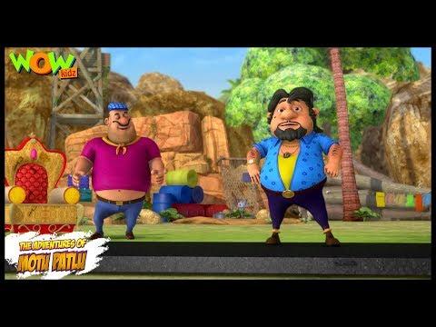 Motu Patlu New Episode  Cartoons  Kids TV Shows  John Ki Running Road  Wow Kidz