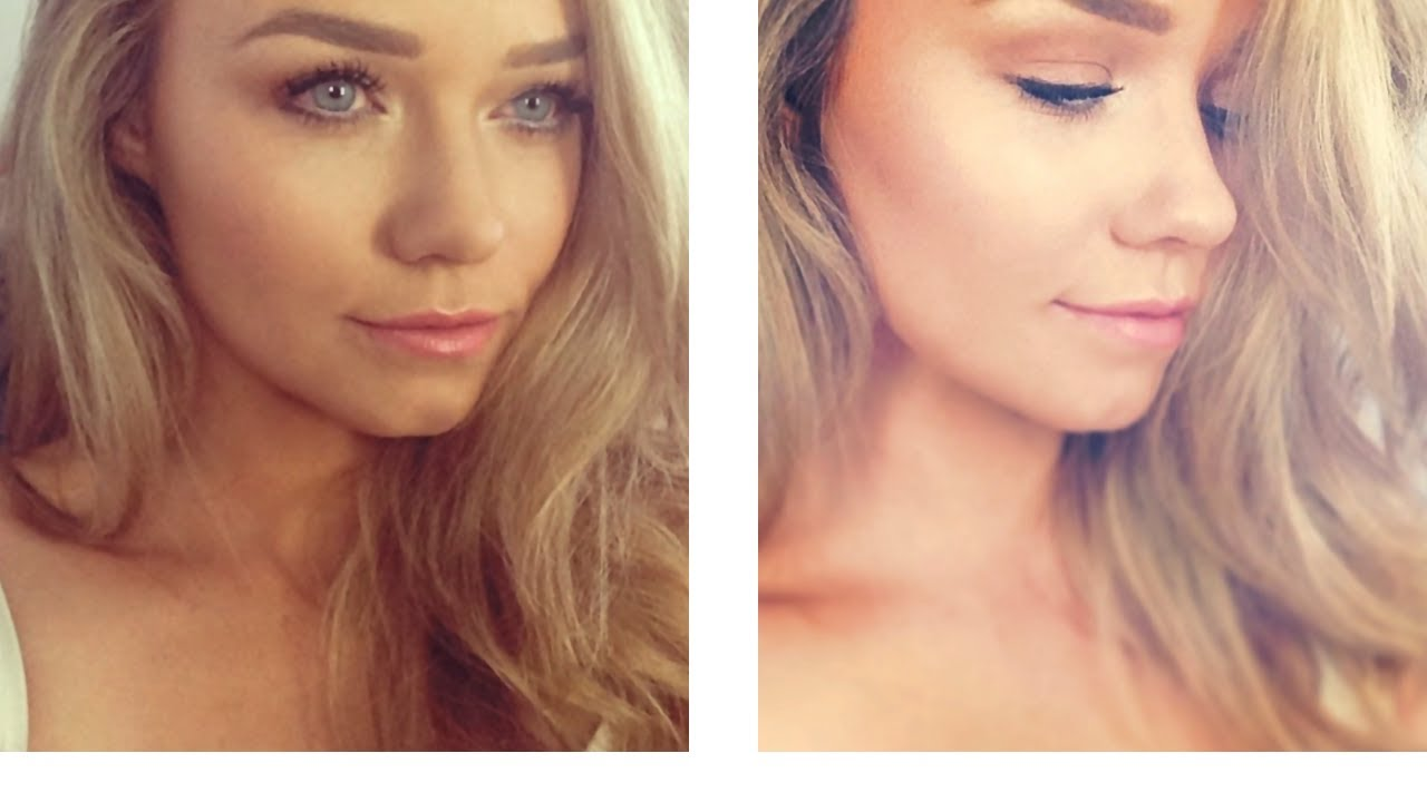Pretty Natural And Glowing Makeup Tutorial W Benefit Cosmetics Beauty Life Michelle Youtube