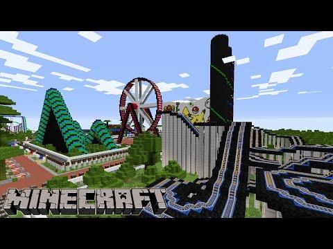 REKREASI YUK : di Wahana Minecraft Park