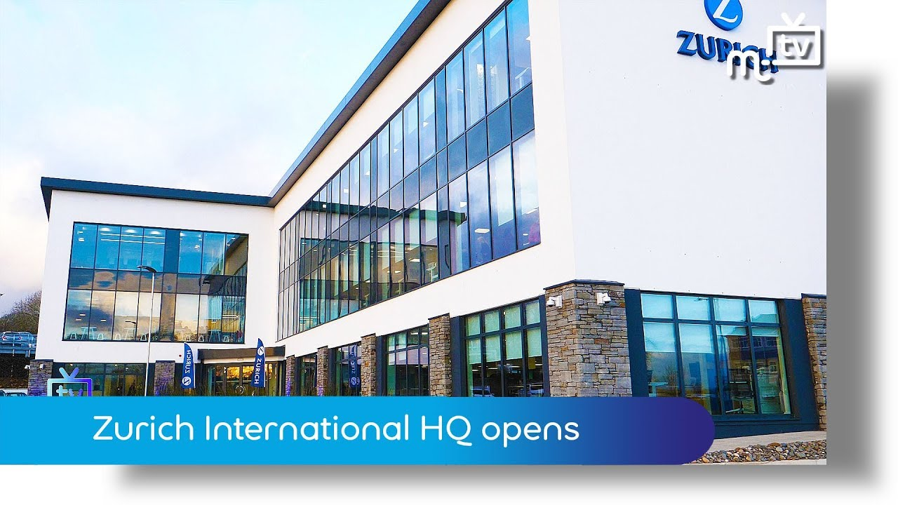 Zurich International HQ opens - YouTube