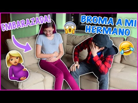 BROMA A MI HERMANO: ¡ESTOY EMBARAZADA! *sale mal* - Lulu99