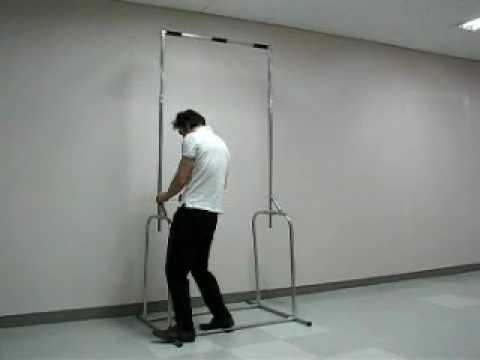 Anytube v12 ; portable push pull iron gym door chinning chin up horizontal exercise dip bar