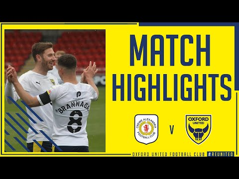 Crewe Oxford Utd Goals And Highlights