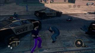 Saints Row 3 Melee only cops