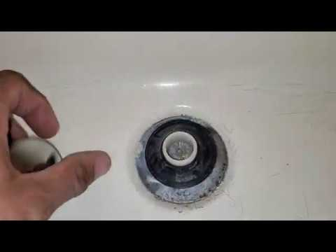 How to Remove Pop Up Tub Stopper. Easy Method!