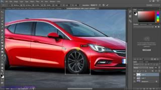 Photoshop CS6/CC Tutorial: Car Modification Part 1