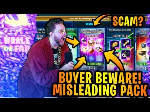 WARNING: THIS SWGOH PACK CAN BE MISLEADING! BUYER BEWARE! - Relic Enhancement Bundle - WHALE OR FAIL