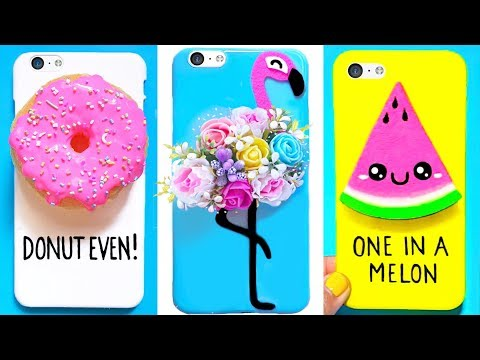 f9fcb1b9d5 7 DIY PHONE CASES (Summer-inspired)   Easy & Cute Phone Projects - YouTube