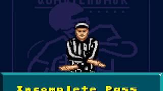 NFL Quarterback Club  ~ Sega Game Gear