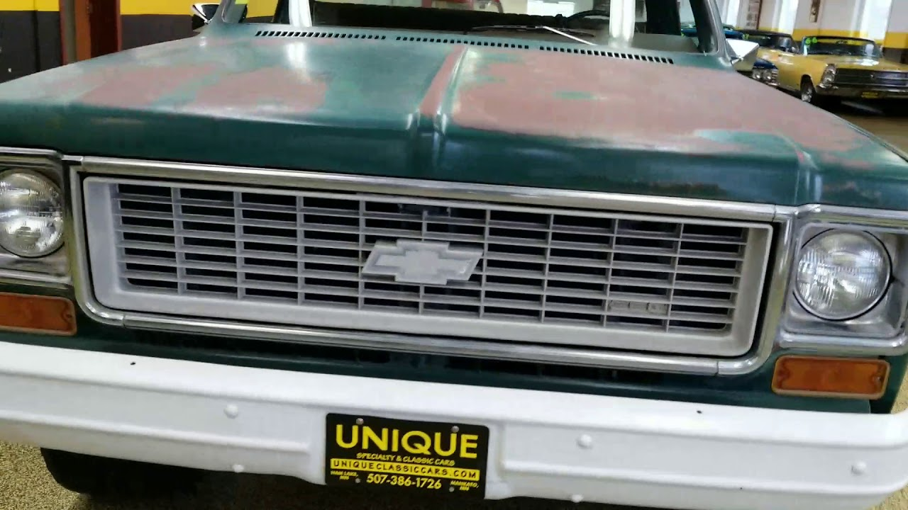 small resolution of 1973 chevrolet custom 10 4x4 regular cab short box pickup for sale