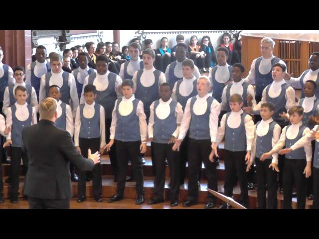 Drakensberg Boys Choir / Südafrika:  Dansgebed / EJCF Basel 2018