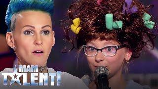 Dziewczynka zrobiła prawdziwe SHOW na scenie! Chylińska była zszokowana jej głosem!  [Mam Talent!] Video