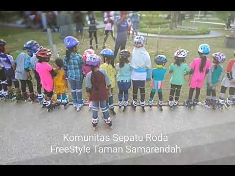 Komunitas Freestyle Taman Samarendah (KFTS) Ngeroll Sepatu Roda ... d432bb72c1