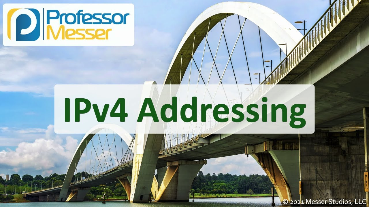 IPv4 Addressing - N10-008 CompTIA Network+ : 1.4