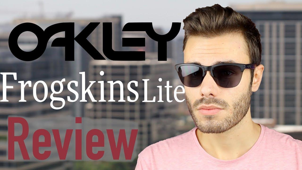3940d53831a Oakley Frogskin Lite Review - YouTube