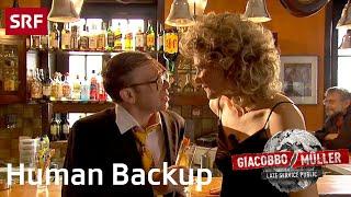 Human Backup | Giacobbo / Müller | SRF Comedy