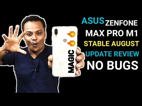 Asus Zenfone Max Pro M1 : August Stable Update Review | No Bugs & No Issues | Tabahi Update