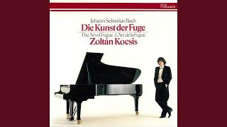 J.S. Bach: The Art of Fugue, BWV 1080 - Canon in Hypodiatessaron, al roverscio e per augmenta-...