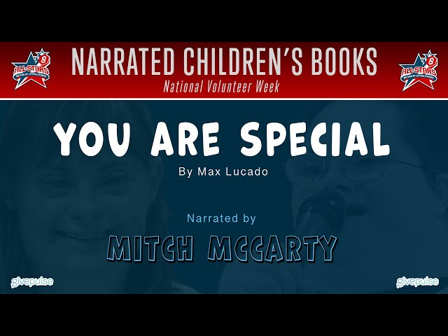 You Are Special narrated by Mitch McCarty