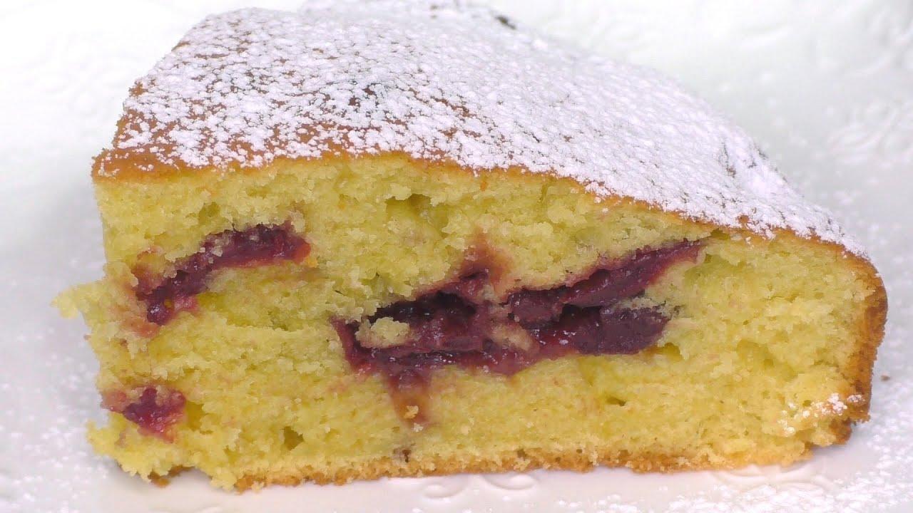Нереально вкусный пирог за 5 минут + время на выпечку ВКУСНЫЙ И ПРОСТОЙ ПИРОГ С ВИШНЕЙ