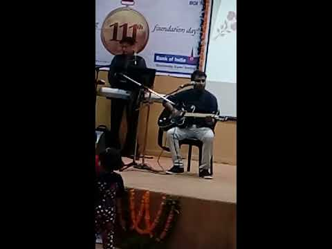 Acoustic Medley on Atif Aslam & Arjit - BOI Foundation Day Stage Performance by ANCHAL ANAND SINGH