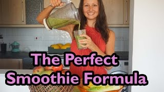 How To Make The Ultimate Nutrient-dense & Healthy Green Fruit Smoothie