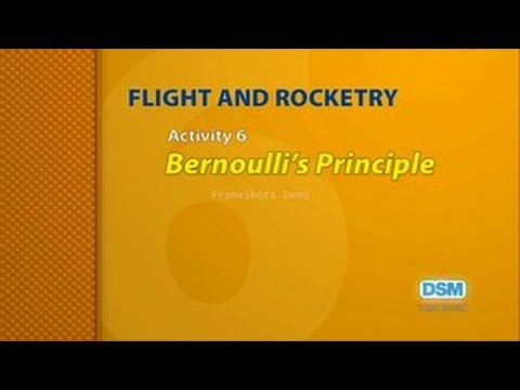 Flight and Rocketry - Activity 6: Bernoulli's Principle