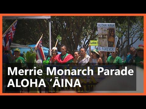 Merrie Monarch Parade Aloha Aina Unit (Apr. 22, 2017)