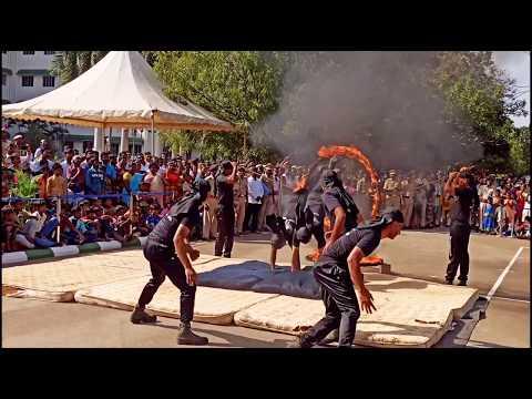 Cisf basic training KRAV MAGA demo perform MADURAI HIGHCOURT CHENNAI  Celebrating republic day 2020