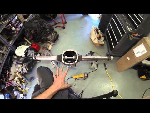 jeep build 1 ton axles and 4 link tear down Doovi
