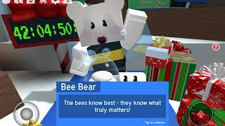 3 Secret Present Locations + Giving a Present to Brown Bear! (Roblox Bee Swarm Simulator)