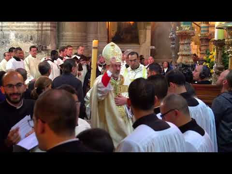 Solemn Mass of the Resurrection of our Lord at the Basilica of the Holy Sepulchre - 2018