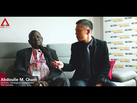 Interview with Mr Abdoulie Cham, Director, Geological Dept, Gambia