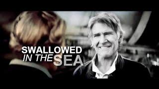 han & leia | swallowed in the sea (TFA spoilers)