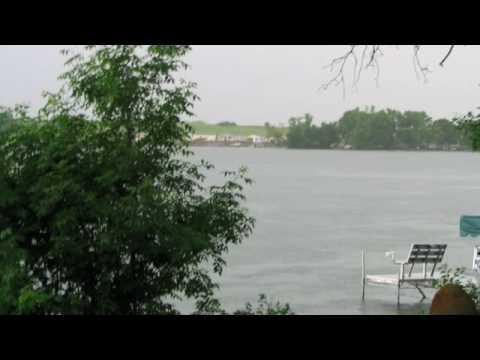 Pickerel Lake, South Dakota Thunderstorm.  June 18, 2009