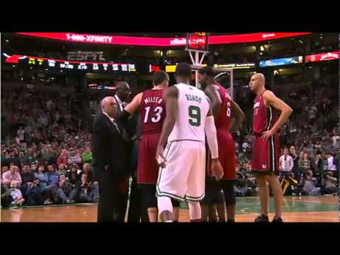Rajon Rondo Tries to Sneak Into Miami Heat Huddle (Hilarious)