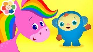 Vídeos Educativos para crianças – Compilação | Aprender As Cores | Desenhos Educativos | BabyFirst