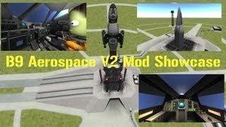 mod showcase b9 aerospace v2 new release kerbal space program