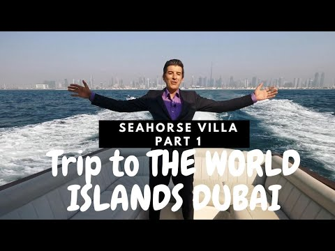 Journey to The World Islands Dubai Part 1.  Fair review of Seahorse Villa in Heart of Europe