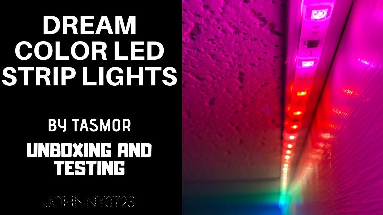 Dream Color Led 5050 Rgb Lights Music Sync Rainbow Lights By Tasmor Youtube