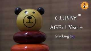 Maya Organic Wooden Toy - Cubby