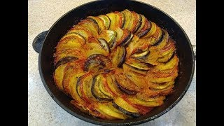 Рататуй Как приготовить просто и вкусно