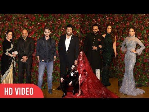 Bollywood Biggest Wedding Party Ever | Ranveer - Deepika Wedding Reception | #DeepVeer