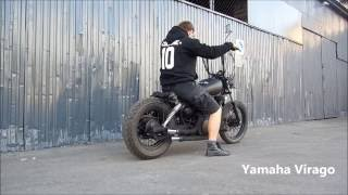 BOBBER Yamaha Virago 125 ,1998 - MUST SEE !!!